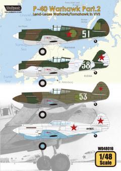P-40 Warhawk Teil 2 - Warhawk/Tomahawk der VVS