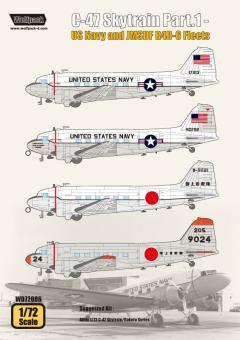 C-47 Skytrain Teil 1: US Navy & JMSDF R4D-6 Fleets