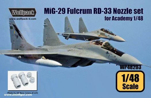 MiG-29 Fulcrum RD-33 Düsen