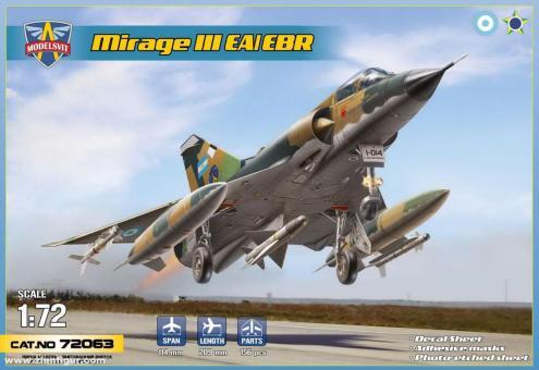 Mirage IIIEA / Mirage IIIEBR