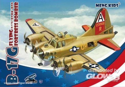 "B-17G Flying Fortress Bomber ""Meng Kids"""