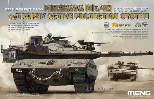 Merkava Mk.4M mit Trohpy Active Protection System