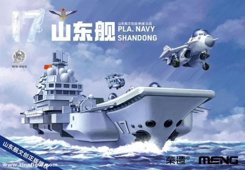 "Flugzeugträger PLA Shandong - ""Warship Builder"""