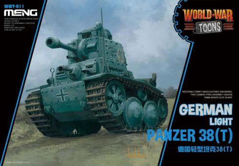 "Panzer 38(t) ""World War Toons"""