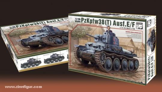 Panzer 38 (t) Ausf.E/F