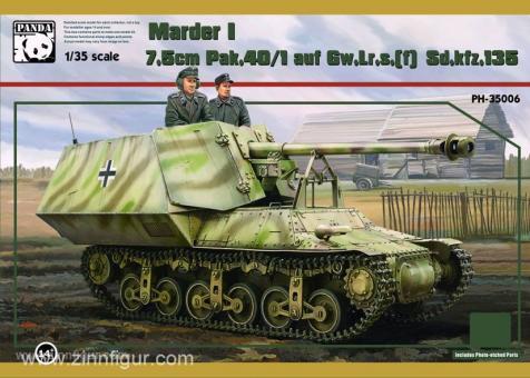 Sd.Kfz.135/1 7,5cm PaK 40 auf Lorraine Marder I