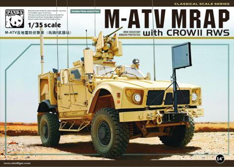 M-ATV MRAP with CROW II RWS