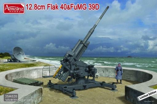 12,8cm Flak 40 mit FuMG 39D