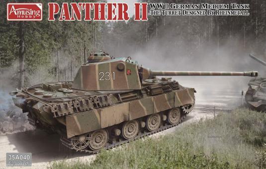 Panther II mit Rheinmetall-Turm
