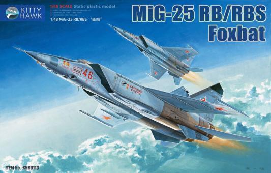 MiG-25RB/RBS Foxbat