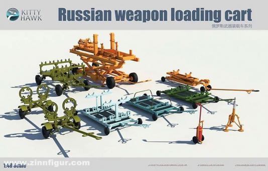 Russische Waffenladungs-Wagen
