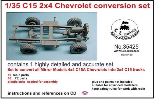 C15 2X4 Chevrolet Umbauset