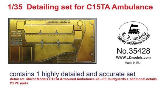 C15TA Ambulanz Detailset
