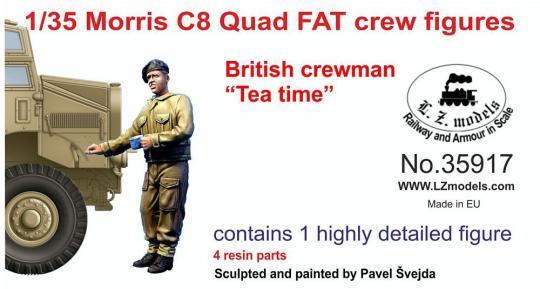 """""""Tea Time"""" - Britischer Soldat für Morris C8 Quad"""