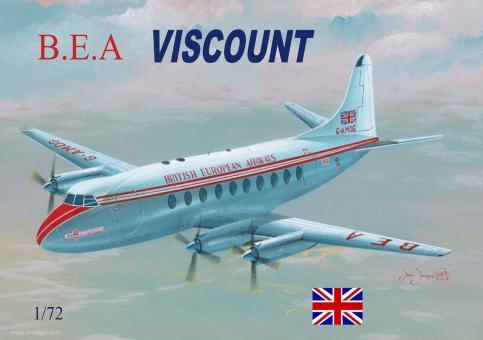 """Vickers Viscount """"B.E.A. British European Airways"""""""