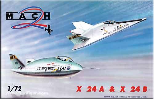 Martin Marietta X-24A & X-24B