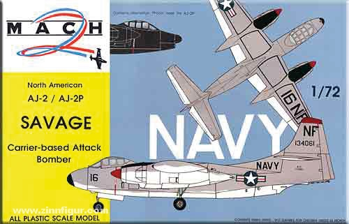 North American AJ-2 / AJ-2P Savage