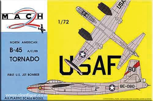 North American B-45A/RB-45C