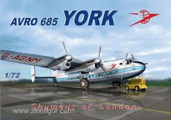 """Avro 685 York """"Skyways of London"""""""