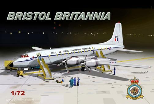 "Bristol Britannia ""RAF"""
