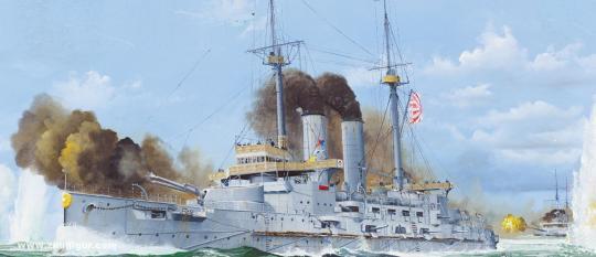 Schlachtschiff Mikasa - 1905