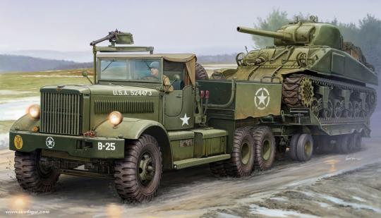 M19 Diamond T Panzertransporter