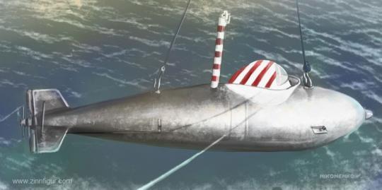 Kleinst-U-Boot Delphin 1 - Klare Edition