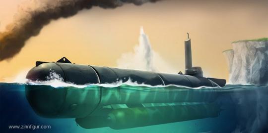Kleinst-U-Boot Molch
