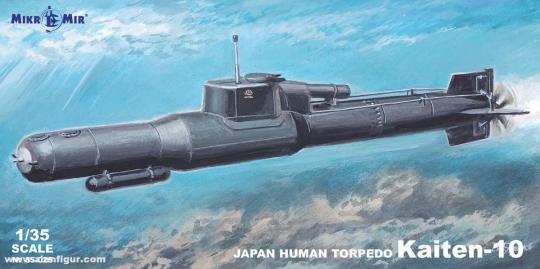 Kaiten-10 Menschlicher-Torpedo