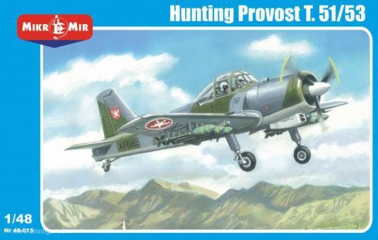 "Hunting Provost T.51/53 ""Myanmar/Malaysia/Muskat&Oman"""
