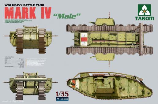 Mark IV Tank Male