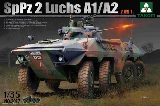 Spähpanzer 2 (SpPz 2) Luchs A1/A2