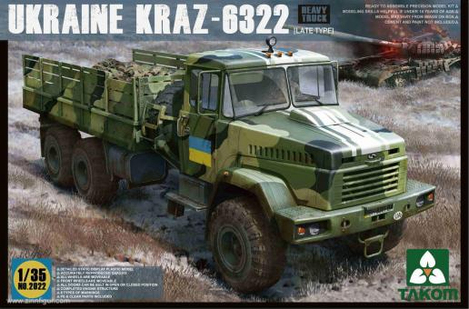 "KRAZ-6322 late Type ""Ukraine"""