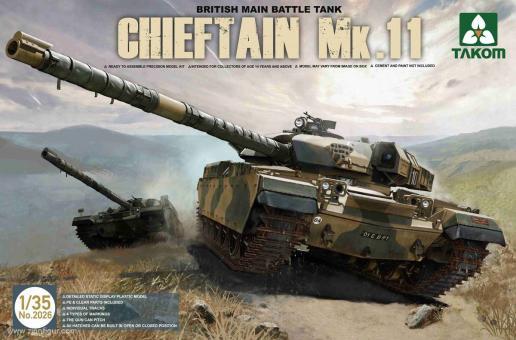 Chieftain Mk.11 Kampfpanzer
