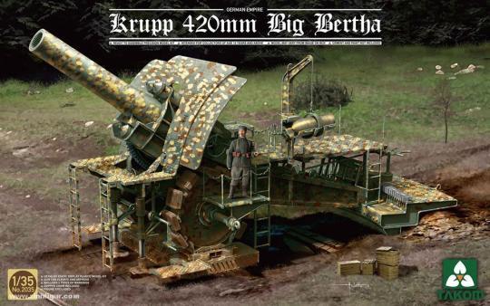 """Krupp 42 cm Belagerungsgeschütz M-Gerät """"Dicke Bertha"""""""