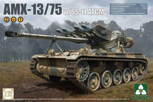 AMX-13/75 with SS-11 ATGM