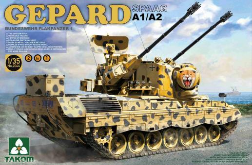 Flakpanzer Gepard A1/A2 SPAAG