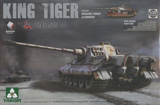 King Tiger Sd.Kfz. 182 with Henschel Tutrret and Zimmerit - Special Edition