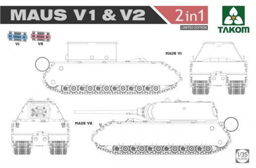 "Maus V1 & V2 ""2-in-1"" - Limited Edition"