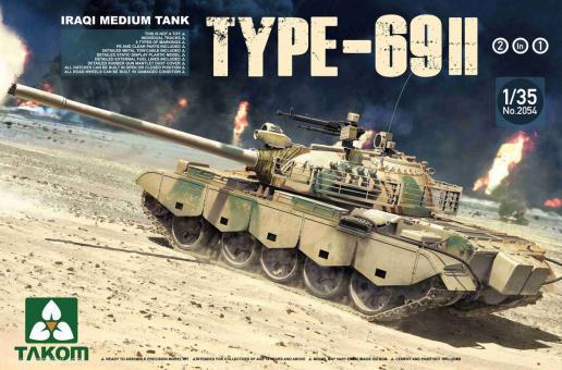 Iraqi Tank Type 69-II