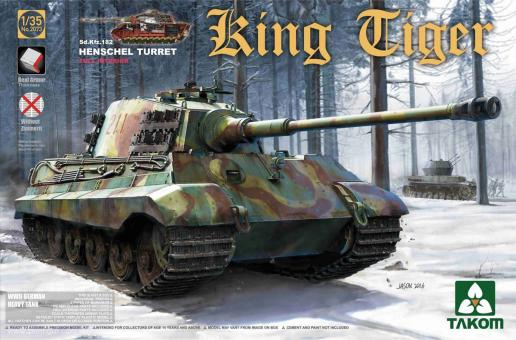 Sd.Kfz.182 King Tiger with Henschel Turret