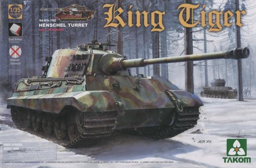 Sd.Kfz. 182 King Tiger with Henschel Turret - Special Edition