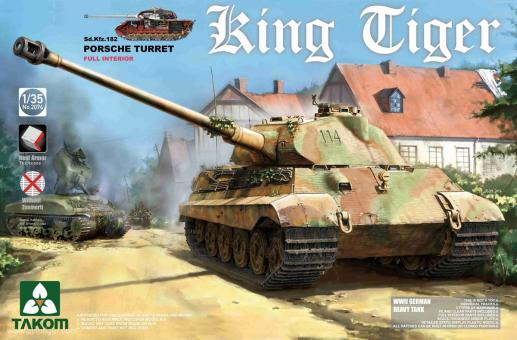 Sd.Kfz.182 King Tiger with Porsche Turret