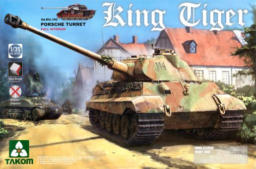 Sd.Kfz. 182 King Tiger with Porsche Turret - Special Hobby