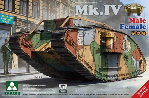 Mk.IV Tank Male/Female - Special Edition