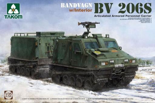 BV 206S Bandvagn with Interior