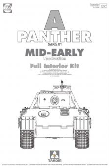 Panther Ausf.A mid/early with Full Interior
