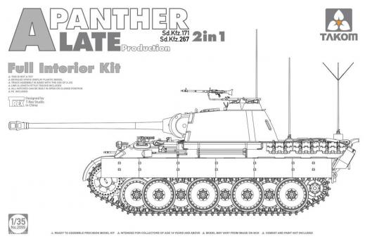 Panther Ausf.A late with Full Interior