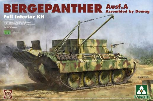 Bergepanther Ausf.A - Demag