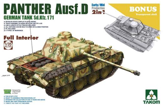 Panther Ausf.D Early/Mid Production